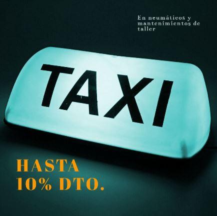 promoción para taxis